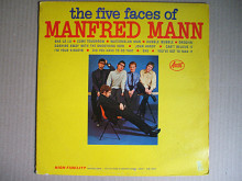 Manfred Mann ‎– The Five Faces Of Manfred Mann (Ascot Records ‎– ALM 13018, US) EX+/EX+