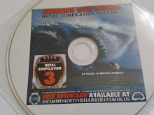 Swimming with shark records promo sampler. The Browning