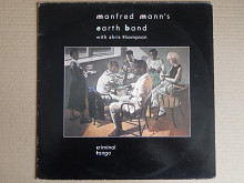Manfred Mann's Earth Band With Chris Thompson ‎– Criminal Tango (10 Records ‎– 207 629, Spain) EX+/N