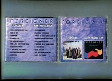 "Продам CD Foreigner ""Foreigner"" – 1977 / ""Agent Provocateur"" – 1984"
