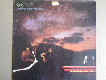 Genesis ‎– …And Then There Were Three… (Charisma ‎– 9124 023, Germany) EX/EX-