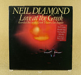 Neil Diamond ‎– Love At The Greek (Recorded Live At The Greek Theatre, Los Angeles) (Англия, CBS)