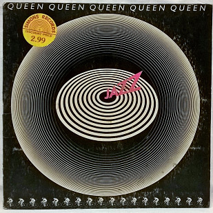Queen (Jazz) 1978. (LP). 12. Vinyl. Пластинка. Elektra. Canada.