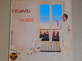 F-R David ‎– Words (Carrere ‎– CRE 25216, Spain) EX+/NM-