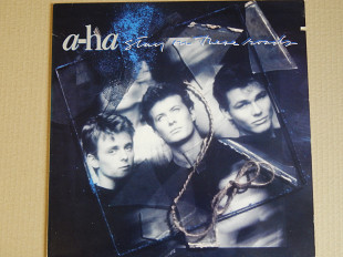 A-ha ‎– Stay On These Roads (Warner Bros. Records ‎– 9 25733-1, US) insert NM-/NM-