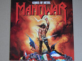 Manowar ‎– Kings Of Metal (Atlantic ‎– 781 930-1, Germany) insert NM-/NM-