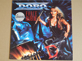 Doro – Force Majeure (Vertigo – 838 016-1, Germany) insert NM-/NM-