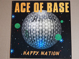 Ace Of Base ‎– Happy Nation (Mega Records ‎– MRLP 3206, Scandinavia) insert NM-/NM-