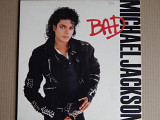 Michael Jackson ‎– Bad (Epic ‎– EPC 450290 1, Holland) insert NM-/NM-