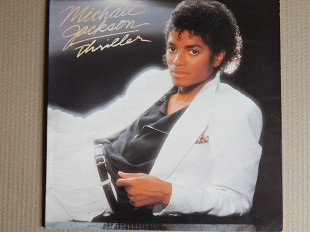 Michael Jackson ‎– Thriller (Epic ‎– EPC 85930, Holland) insert NM-/NM-