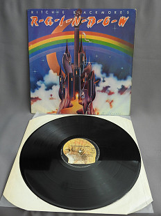 Rainbow Ritchie Blackmore's Rainbow LP UK 1975 1st press VG+ Великобритания оригинальная пластинка