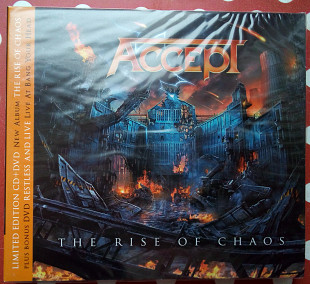 Accept - The Rise of Chaos 2017 (CD+DVD - digipak) (SEALED)