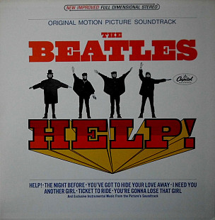 The Beatles ‎– Help! (Original Motion Picture Soundtrack)