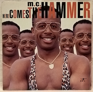 MC Hammer (Here Comest The Hammer) 1990. (LP). 12. Vinyl. Пластинка. EEC