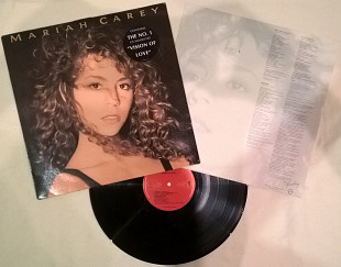 Mariah Carey (Mariah Carey) 1990. (LP). 12. Vinyl. Пластинка. Holland. Оригинал.