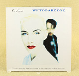 Eurythmics ‎– We Too Are One (UK & Europe, RCA)
