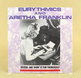 Eurythmics And Aretha Franklin ‎– Sisters Are Doin' It For Themselves (Англия, RCA)