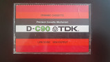 Касета TDK D-C90 (Release year: 1972-77)