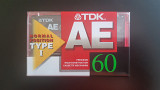 Касета TDK AE 60 (Release year: 1998)
