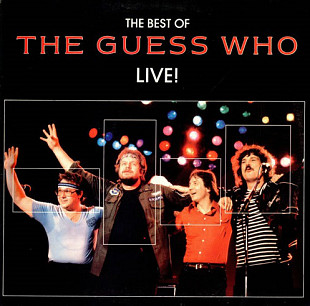 "The Guess Who ‎ ""The Best Of The Guess Who-Live!"" - 2 LP"