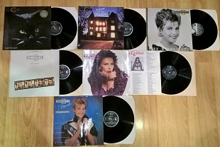C.C. Catch (1-6 Albums) 1986-89. (6LP). Комплект. Vinyl. Пластинки. Hansa. Germany.