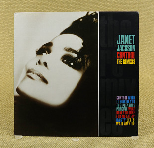 Janet Jackson – Control - The Remixes (Англия, A&M Records)