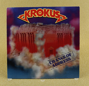 Krokus – Change Of Address (Европа, Arista)