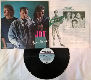Joy - Joy And Tears - 1986. (LP). 12. Vinyl. Пластинка. Soul Records / Teldec. Оригинал.