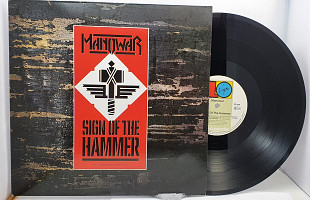 "Manowar – Sign Of The Hammer LP 12"" (прайс 32972)"