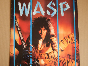 WASP ‎– Inside The Electric Circus (Capitol Records ‎– 064 24 0648 1, France) EX+/EX+