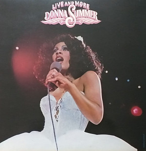 "Donna Summer ""Live and More"" 2LP"