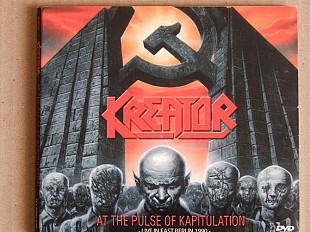 Kreator ‎– At The Pulse Of Kapitulation - Live In East Berlin 1990 ( Steamhammer ‎– SPV 99807 DVD, B