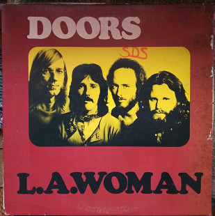 Пластинка The Doors ‎– L. A. Woman 1971 (Re 1976, Elektra EKS 75011, US)