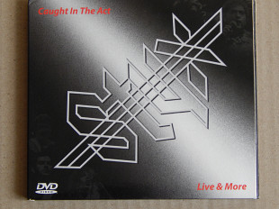 Styx ‎– Caught In The Act - Live And More (A&M Records ‎– B0009295-09, Unofficial Release, Russia)