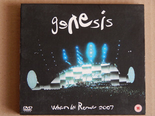 Genesis ‎– When In Rome 2007 (Virgin – 5099996804698, Booklet, Unofficial Release, Russia)