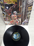 IRON MAIDEN Somewhere in Time UK.