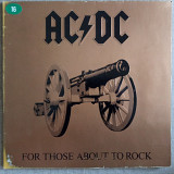 AC/DC 1981 For Those About To Rock.