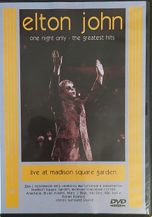 Elton John- ONE NIGHT ONLY: The Greatest Hits Live At Madison Square Garden