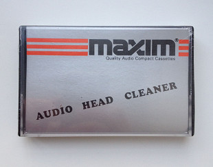 Кассета Maxim Audio Head Cleaner