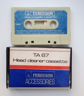 Кассета Ferguson TA 67 Head Cleaner Cassette