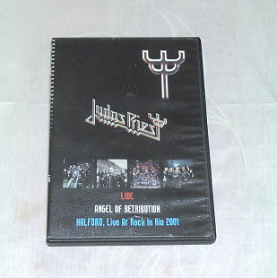 DVD Judas Priest / Halford ‎– Live / Angel Of Retribution / Live At Rock In Rio 2001