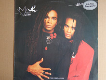 Milli Vanilli ‎– All Or Nothing (The First Album)(Hansa ‎– 209 458, Germany) EX+/EX+