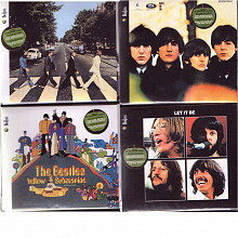 """Beatles in Stereo"" (09.09.09.) - 4 альбома + DVD"