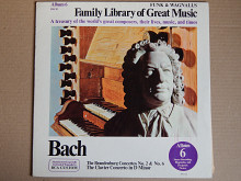 Bach ‎– The Brandenburg Concertos No. 2 & No. 6, The Clavier Concerto In D Minor (RCA Custom ‎– FW-3