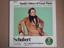 Schubert ‎– The Unfinished Symphony - Symphony No. 5 (RCA Custom ‎– FW-308, US) NM/NM-