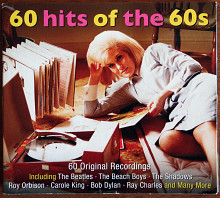 3CD 60 Hits Of The 60s 2013 Rock & Roll EU