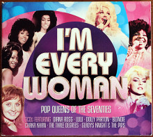 3CD I'm Every Woman - Pop Queens Of The 70s 2014 Rock, Funk/Soul, Pop EU