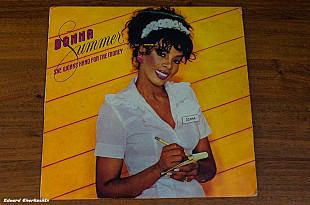Donna Summer ‎– She Works Hard For The Money ‎– 2222027 Yugoslavia 1984 EX/EX