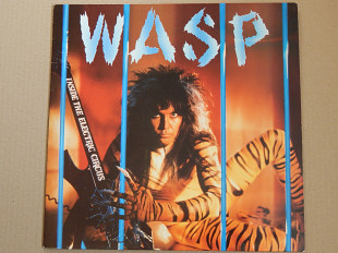 WASP ‎– Inside The Electric Circus (Capitol Records ‎– 064 24 0648 1, France) insert NM-/NM-