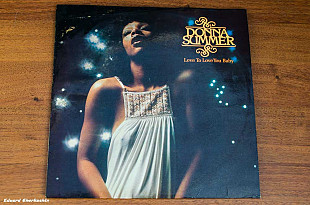 Donna Summer ‎– Love To Love You Baby Atlantic ‎– ATL 50 198 Germany 1975 VG/EX